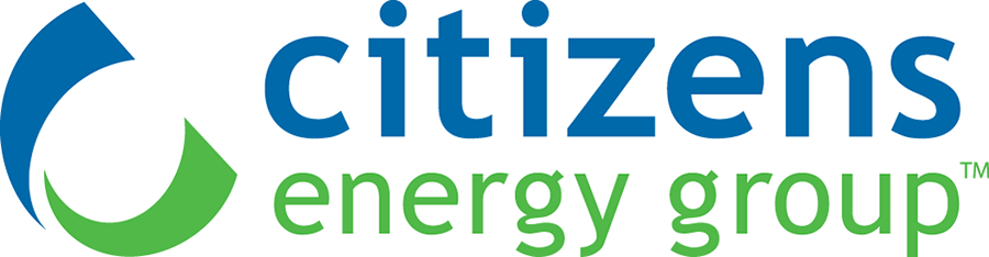 Logo for Citizens Energy Group provides safe and reliable services for Water, Wastewater and Natural Gas service to Marion and surrounding counties.