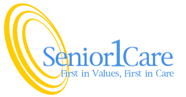 Logo for Senior1Care is a family owned and operated Home  Care company who is dedicated to providing exceptional, dependable, and compassionate care to individuals seeking to maintain independent living.